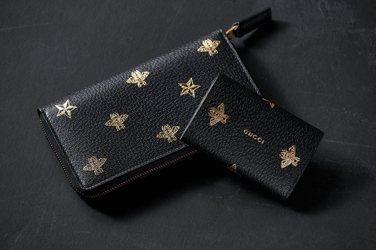 new styles 58400 a62b1 グッチ最新ウォレット】蜂(ビー)×星(干場)=すなわち最強 ...